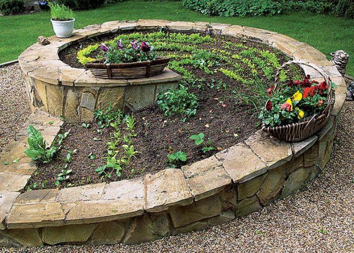 Идея оформления огородика