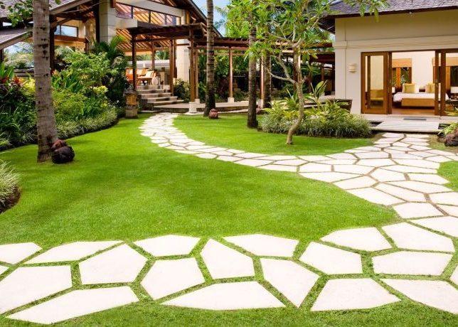 Дорожки для сада из плитки