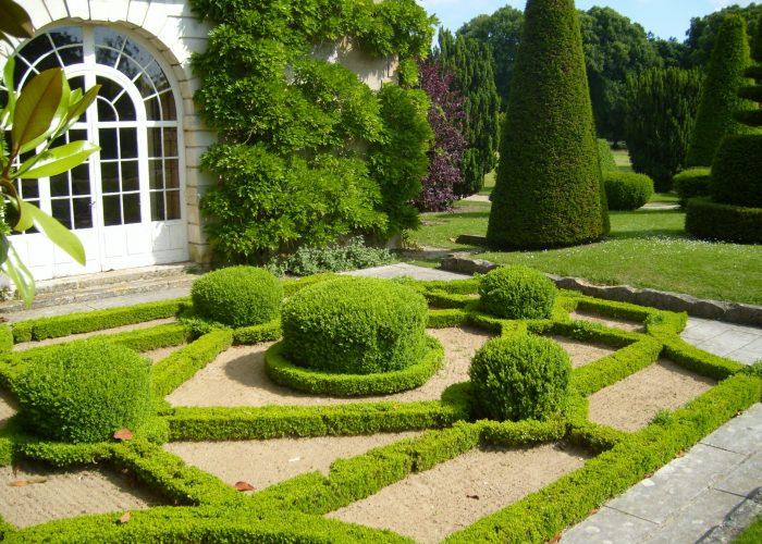 Живые изгороди в английском саду